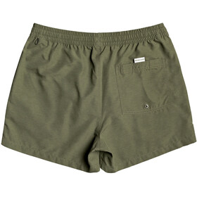 Quiksilver Everyday Volley 15 Shorts Hombre, Oliva